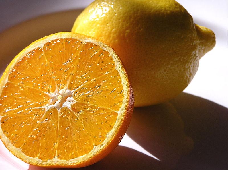 Abnehmen mit Zitrone